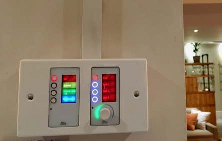 BSS Audio Control Panel at the Fish Hotel & Dormy House Hotel